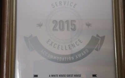 A White House Guest House placed in top 3 at Lilizela 2015